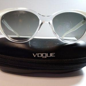 VOGUE white cat eye sunglasses